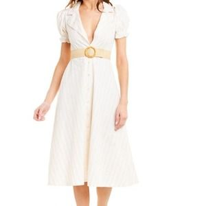 NWT WeWoreWhat Bella Midi Dress